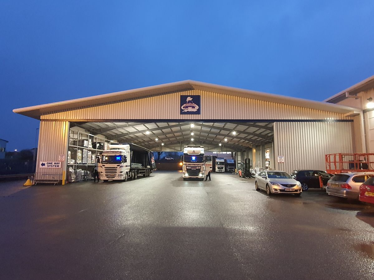 Andyfreight Site Expansion Complete